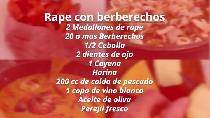 Las recetas de MD by Rafuel: Rape con berberechos