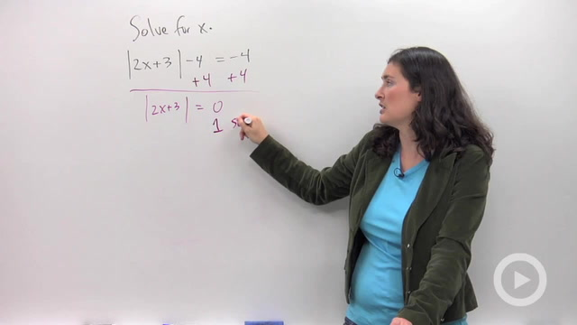 Absolute Value Equations - Problem 3