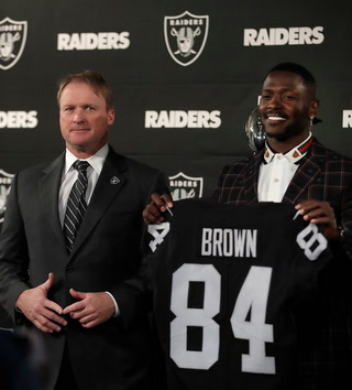 Jon Gruden frustrated with Antonio Brown situation, but focused on the Broncos – VIDEO