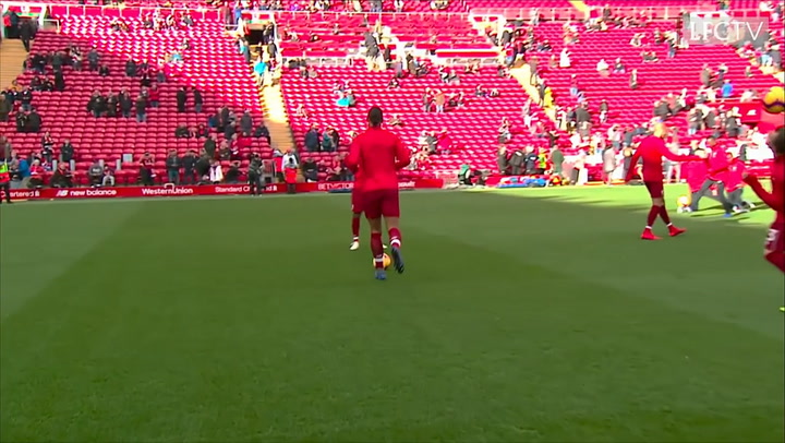 Virgil Van Dijk's Cheeky Nutmeg On Mohamed Salah