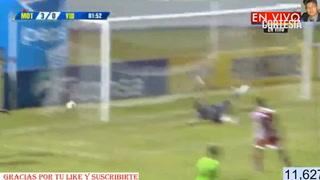 Sergio Peña castiga al vida anotando el 3-0 para Motagua