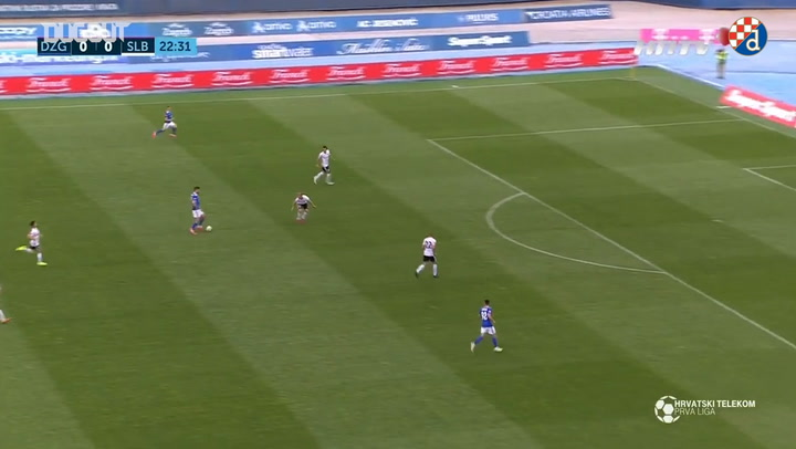 Petkovic's last minute goal clinches victory for Dinamo Zagreb