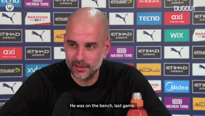 Guardiola on fitness of De Bruyne and Gündoğan ahead of Everton clash