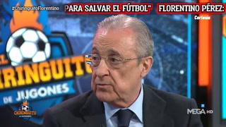 Florentino Pérez confirma que al Real Madrid no lo pueden echar de la Champions