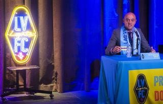 Las Vegas Lights FC introduces first head coach