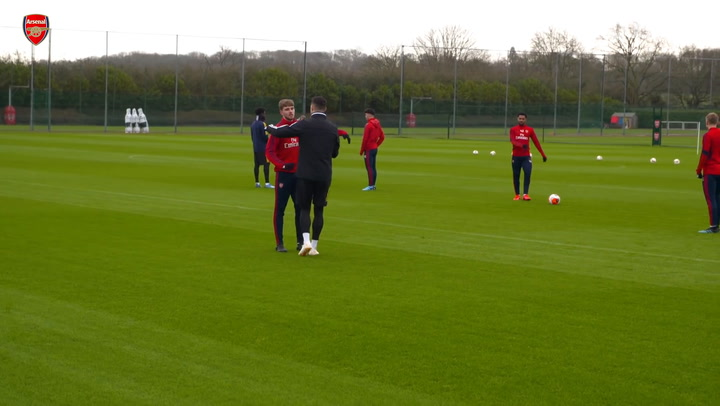 Arsenal prepare for Europa League clash with Olympiacos