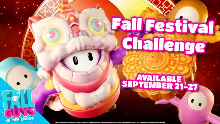 Fall Guys celebrating Mid-Autumn Festival with its own Fall Festival