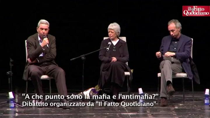 """""""A che punto sono la mafia e l'antimafia?"""" Il Fatto a Palermo con le toghe minacciate"""