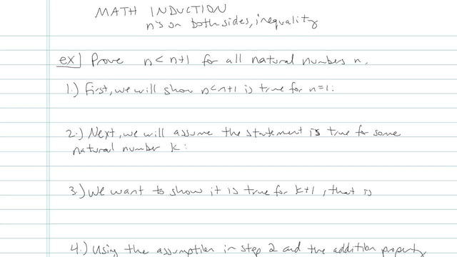 Mathematical Induction - Problem 3