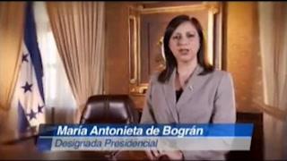 Oficina donde exdesignada presidencial hondureña se tomó foto con Axel López