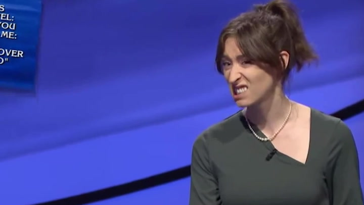 Jeopardy! contestant goes viral for her expressive face