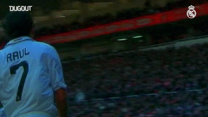 Raúl passes Di Stéfano as Real Madrid's top scorer