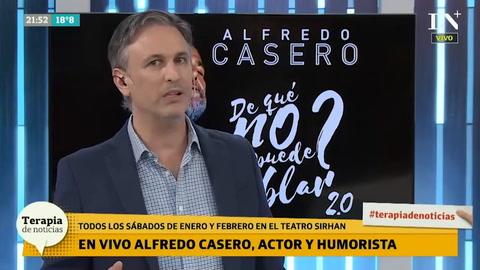 Antes que Lavagna, prefiero a Cavallo, afirmó Alfredo Casero