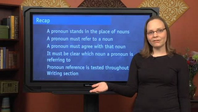 Pronoun Reference, Part II