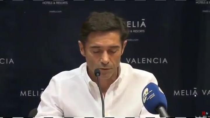 El amargo adiós de Marcelino al Valencia: