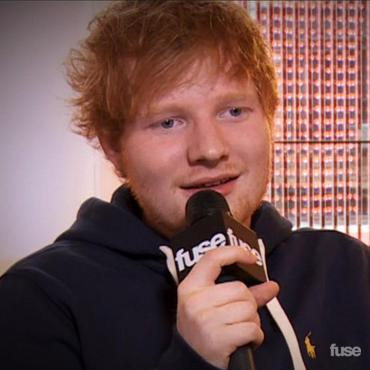 Ed Sheeran on Taylor Swift's Boyfriends & Dissing Selena Gomez at Delta T4X Pop Up