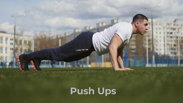 12. Push Ups