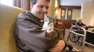Hawk Creek Animal Shelter visits Rice Care Center