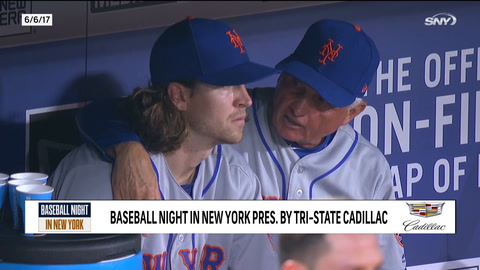 Terry Collins looks back at rare off night from Jacob deGrom in 2017