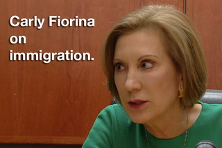Carly Fiorina on immigration