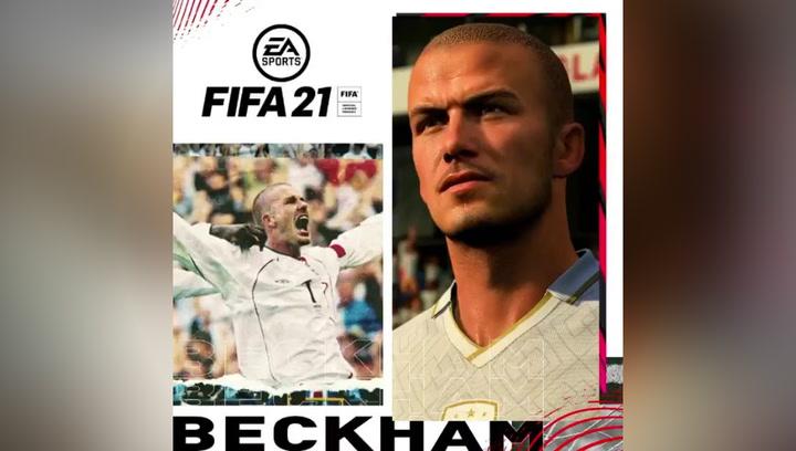 David Beckham regresa a EA SPORTS como embajador del FIFA 21