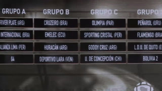 Conmebol sorteó el calendario de la Copa Libertadores 2019