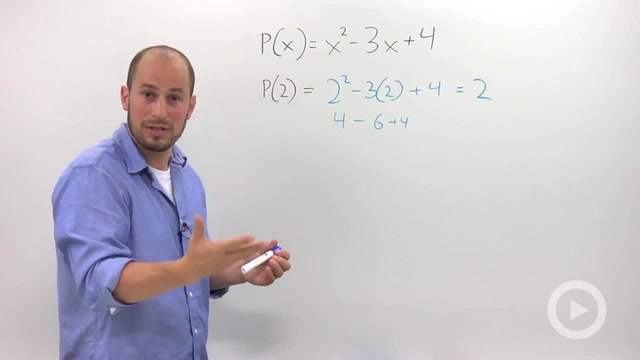 Using Synthetic Division to Evaluate Polynomials - Problem 1
