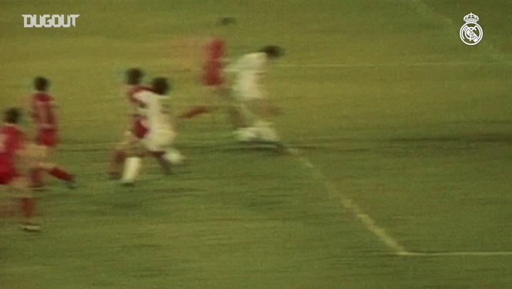 Título da Copa da Uefa de 1986 do Real Madrid