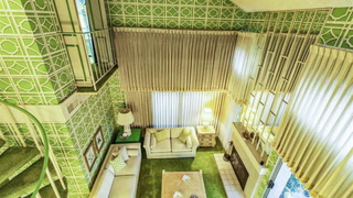 You Won't Be Able to Stop Looking at This All-Green 1970s Condo