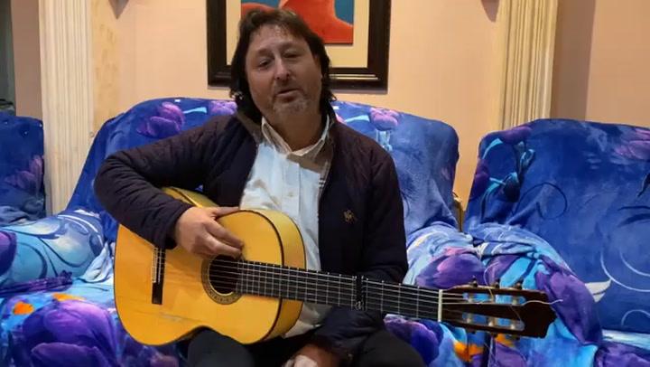 Joaquin Ortega Canta La Canción Del Coronavirus