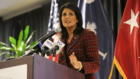 Haley Explains U.N. Human  Rights Council Departure