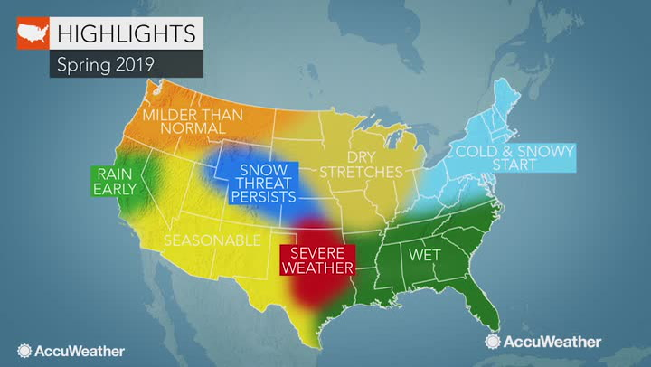 Accuweather 2019 Us Spring Forecast