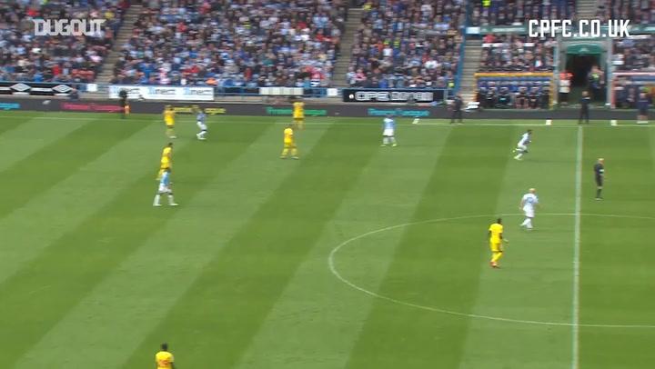 Zaha's Strike Vs Huddersfield: Goal Of The Month Nominee