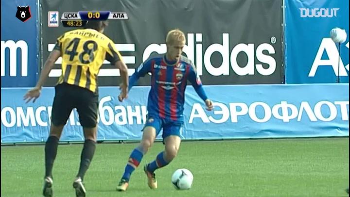 Keisuke Honda's double over Spartak Vladikavkaz