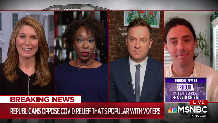 MSNBC's Joy Reid: GOP 'On Their Knees' Worshiping 'Golden Calf' Trump