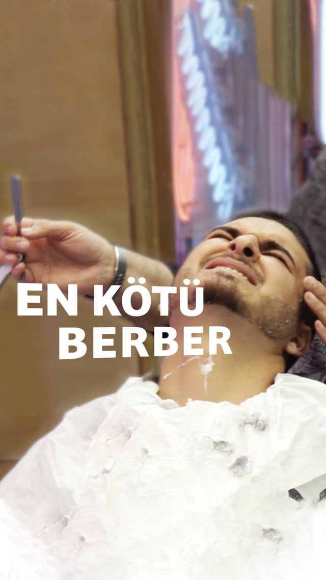 En kötü berberde tıraş olur musun?