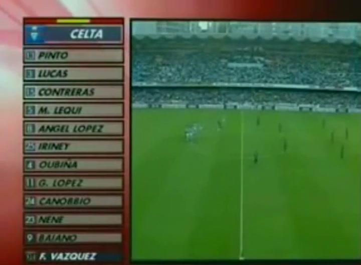 Messi fue uno de los protagonistas del Celta Vigo-Barça el 28 de agosto de 2006-2007