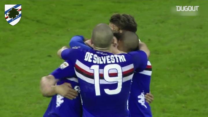 Mauro Icardi scores twice as Sampdoria beat Juventus
