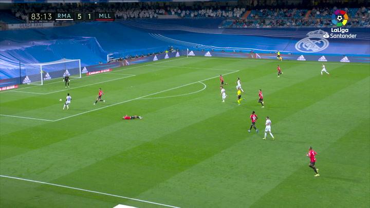 Gol de Isco (6-1) en el Real Madrid 6-1 Mallorca