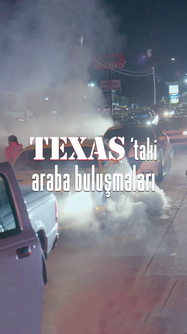 Teksas'ta asfaltı ağlatanlar