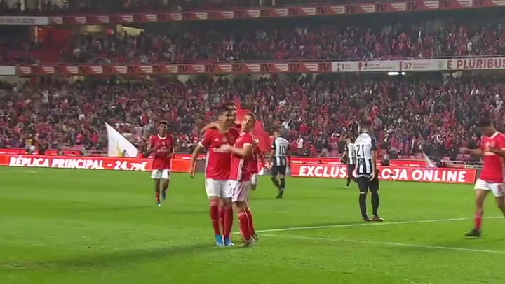 Así juega Ruben Dias (Benfica)