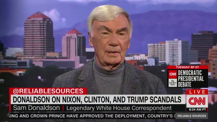 Image result for Sam Donaldson Says Trump Supporters Want America To Return To 'White, Christian Country'