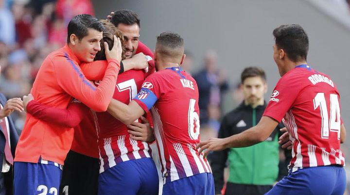 LaLiga: Resumen y Goles del Partido Atlético (2) - (0) Celta del 13/04/2019