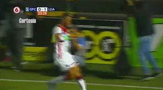 Alex López anota su segundo gol consecutivo con el Alajuelense en Costa Rica