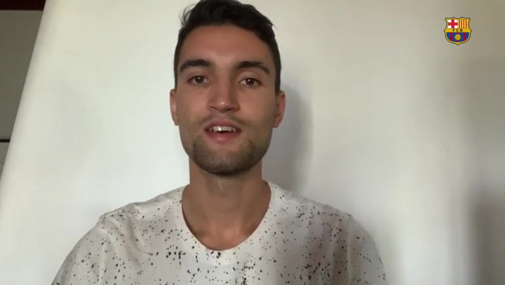 El mensaje a la afición culé de André Coelho, primer fichaje del Barça de fútbol sala