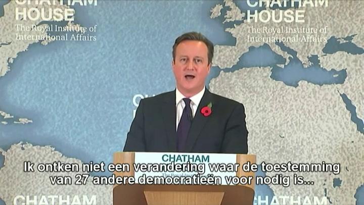 Cameron heeft vertrouwen na hervormingen EU