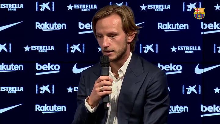 Rakitic agradece al Barça y a los aficionados los seis años vividos en el club
