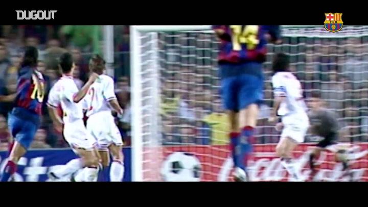 Golaços de Ronaldinho Gaúcho pelo Barcelona
