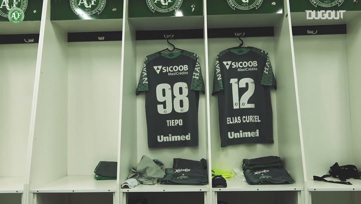 Behind the scenes of Chapecoense's 1-1 draw with Criciúma