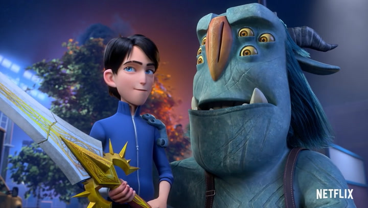 'Trollhunters: Rise of the Titans' Trailer